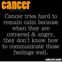 May 9, 2017. Try to keep a realistic picture of business developments and don't go running into creating new ......FOR FULL HOROSCOPE VISIT: http://horoscope-daily-free.net/cancer: Cancer  Cancer tries hard to  remain calm because  when they are  cornered & angry,  they don't know how  to communicate those  feelings well  zodiaccity,tumblr May 9, 2017. Try to keep a realistic picture of business developments and don't go running into creating new ......FOR FULL HOROSCOPE VISIT: http://horoscope-daily-free.net/cancer