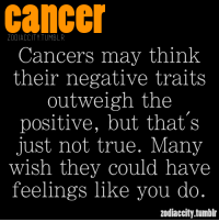 EMILY: Cancer positive and negative traits