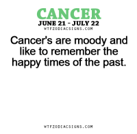 Apr 4, 2017. You take over some obligations reluctantly, but you are aware that things can't be done otherwise. When the time comes, you will be rewarded. LOVE: It is necessary to leave your loved person enough.....FOR FULL HOROSCOPE VISIT: http://horoscope-daily-free.net/cancer: CANCER  JUNE 21 JULY 22  W T FZ0DI AC SIGNS COM  Cancer's are moody and  like to remember the  happy times of the past.  W TFZ0 DIAC SIGNS COM Apr 4, 2017. You take over some obligations reluctantly, but you are aware that things can't be done otherwise. When the time comes, you will be rewarded. LOVE: It is necessary to leave your loved person enough.....FOR FULL HOROSCOPE VISIT: http://horoscope-daily-free.net/cancer