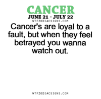 Apr 15, 2017. Your emotional disintegration continues. You can't see clearly what is happening to you. You are too ........FOR FULL HOROSCOPE VISIT: http://horoscope-daily-free.net/cancer: CANCER  JUNE 21 JULY 22  W TFZ0 DIAC SIGNS COM  Cancer's are loyal to a  fault, but when they feel  betrayed you wanna  watch out.  W TFZ0 DIAC SIGNS COM Apr 15, 2017. Your emotional disintegration continues. You can't see clearly what is happening to you. You are too ........FOR FULL HOROSCOPE VISIT: http://horoscope-daily-free.net/cancer