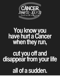Aug 24, 2016. You are a little relieved by transferring much of your work to one of your trusted associates. You deserve a small break; you work too much during this ......FOR FULL HOROSCOPE VISIT: http://horoscope-daily-free.net/cancer: CANCER  JUNE 22-JULY 22  Z o dia c M i n d c o m  You know you  have hurtaCancer  when they run,  cut you off and  disappear from your life  all of a Sudden. Aug 24, 2016. You are a little relieved by transferring much of your work to one of your trusted associates. You deserve a small break; you work too much during this ......FOR FULL HOROSCOPE VISIT: http://horoscope-daily-free.net/cancer
