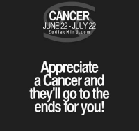 May 9, 2016. Your emotional disintegration continues. You can't see clearly what is happening to you. You are  ....FOR FULL HOROSCOPE VISIT: http://horoscope-daily-free.net/cancer: CANCER  JUNE 22 - JULY 22  Z odiacMind.co m  Appreciate  a Cancer and  they'll go to the  ends for you! May 9, 2016. Your emotional disintegration continues. You can't see clearly what is happening to you. You are  ....FOR FULL HOROSCOPE VISIT: http://horoscope-daily-free.net/cancer