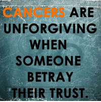 Agree or disagree? #cancer #cancerseason #cancer♋ #cancerfacts #cancerseason♋️ #cancers #crabs #cancerzodiac #cancerbaby #cancerman #cancerwoman #cancerworld #cancerian #cancerthing #cancersign #cancerteam #juneborn #julyborn #zodiac #zodiacthing #zodiactees #zodiacthingcom http://bit.ly/2ukibpq: CANCERS  ARE  UNFORGIVING  WHEN  SOMEONE  BETRAY  THEIR TRUST Agree or disagree? #cancer #cancerseason #cancer♋ #cancerfacts #cancerseason♋️ #cancers #crabs #cancerzodiac #cancerbaby #cancerman #cancerwoman #cancerworld #cancerian #cancerthing #cancersign #cancerteam #juneborn #julyborn #zodiac #zodiacthing #zodiactees #zodiacthingcom http://bit.ly/2ukibpq