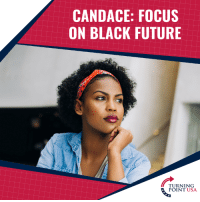 """Future, Memes, and Wow: CANDACE: FOCUS  ON BLACK FUTURE  TURNING  POINT USA WOW! Candace Owens Tells Black Americans To MOVE ON & Focus On Their Future, NOT Their Ancestor's Past...  """"Your History Is Not Going To Help You With Your Future"""""""