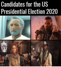Memes, Presidential Election, and Candide: Candidates for the US  Presidential Election 2020 Who will you vote for?