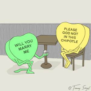 candy hearts [OC]: candy hearts [OC]