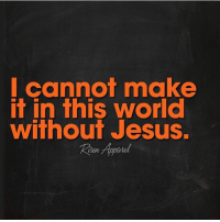 Jesus, Memes, and World: Cann make  it in this world  Without Jesus. Credit: @risenapparel