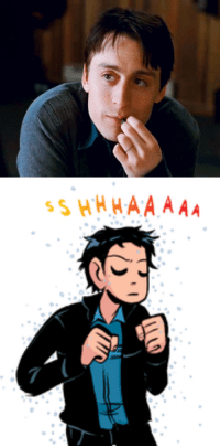 Lgbt, Target, and Tumblr: canonlgbtcharacters:  the canon LGBT+ character of the day iswallace wells from scott pilgrim vs the world and the scott pilgrim comics, who is gay !