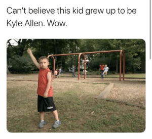 I'm dead. (@MattHarmon_BYB) https://t.co/mZ0LYOzDoX: Can't believe this kid grew up to be  Kyle Allen. Wow. I'm dead. (@MattHarmon_BYB) https://t.co/mZ0LYOzDoX