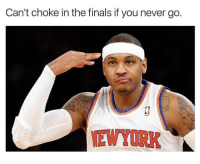😭😂😭: Can't choke in the finals if you never go.  NEWYORK 😭😂😭