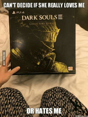 Fiance, Got, and The Collector: CANT DECIDE IF SHE REALLY LOVES ME  DAR K SOULS Ⅲ  COLLECTORS EDITiO  OR HATES ME  EFU So my fiancè got me the collector edition of DS3