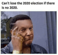 Dank, Donald Trump, and Life: Can't lose the 2020 election if there  is no 2020. Donald Trump rhetoric and threats will leading to destruction and loss of life large scale. :(