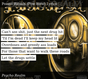 Psycho Realm-A War Story: Book II-Poison Rituals (Pow Wow)
