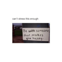 cohmedy: can't stress this enough  Be Someone  that makes  you happy. cohmedy