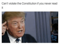 Checkmate, fact checkers!: Can't violate the Constitution if you never read Checkmate, fact checkers!