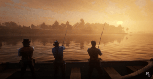 Cant wait for Rockstars fishing simulator 2019.: Cant wait for Rockstars fishing simulator 2019.