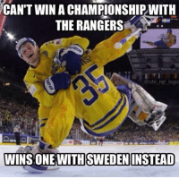 "Refs in the Ducks-Oilers series be like ""no goalie interference"": CAN'T WIN ACHAMPIONSHIPWITH  THE RANGERS  @nhl ref logic  WINS ONE WITH SWEDEN INSTEAD Refs in the Ducks-Oilers series be like ""no goalie interference"""