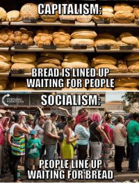Memes, Capitalism, and Waiting...: CAPITALISM  BREAD IS LINED UP  WAITING FOR PEOPLE  POINT USA  WAITING FOR!BREAD Exactly!