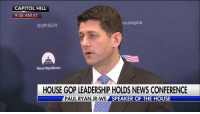 """Speaker PaulRyan announces he is inviting President DonaldTrump to address a joint session of Congress on February 28th. """"For too long Washington has been too timid about addressing the big challenges facing our country,"""" Speaker Ryan said.: CAPITOL HILL  9:58 AM ET  housegop  GOPGOV  House Republicans  HOUSE GOP LEADERSHIP HOLDS NEWS CONFERENCE  PAUL RYAN (R-WI)  SPEAKER OF THE HOUSE Speaker PaulRyan announces he is inviting President DonaldTrump to address a joint session of Congress on February 28th. """"For too long Washington has been too timid about addressing the big challenges facing our country,"""" Speaker Ryan said."""