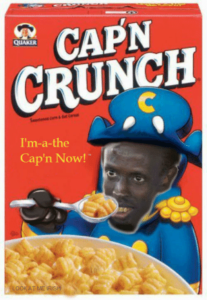 Oops All Berries Generator – The premise behind this cereal is that cap'n crunch was making his crunch berries cereal which is a combination of traditional cap'n crunch cereal.