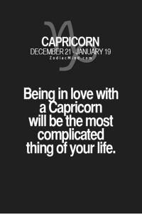 Friends, Life, and Love: CAPRICORN  DECEMBER 21 JANUARY 19  Z o d i a c n d c o m  Being in love with  a Capricorn  will be the most  complicated  thing of your life. May 23, 2017. You will take a chance for a flirt that has come up. Possible new acquaintance through the circle of friends. You are ready for new......HOROSCOPE VISIT: http://horoscope-daily-free.net