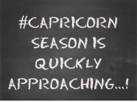 Can't wait!!!: CAPRICORN  SEASON IS  QUICKLY  APPROACHING...! Can't wait!!!