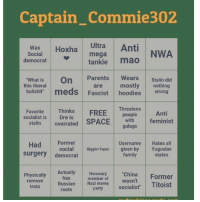 """Memes, 🤖, and Spaces: Captain Commie302  Hoxha mega  Anti  Ultra  Was  NWA  Social  democrat  tankie mao  """"What is  on Parents  Wears  Stalin did  this liberal  are mostly nothing  bullshit""""  meds  Fascist  hoodies  wrong  Thinks  Threatens  FREE  people  Favorite  Anti  socialist is  with feminist  stalin  overrated SPACE  gulags  Had  Former  Username  Hates all  social  Biggie Tupac given by  Yugoslav  Surgery  family  states  democrat  Actually  Honorary  """"China  Former  has  member of  Physically  Nazi meme  wasn't  Titoist  party  socialist""""  remove  Russian  trots  roots Tag me if ya do it"""