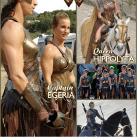 DRESSED FOR BATTLE...I love the armor the Amazonians wear! * Wonder Woman is not the most physically imposing Amazon that exists. The popular misconception is that Princess Diana's strength and power comes from her size, and that's not the case. She is uniquely blessed (whether clay origin or divine birthright) by the Greek Gods which separates her from her Amazon sisters. This nation of Amazon women are not just soldiers and warriors but also scholars, philosophers, healers, scribes, sculptors, architects and historians. * Here we see: @madeleinevallbeijner as Egeria @robingwright as Antiope @cn_connienielsen as Hippolyta @samanthawjo as Euboea and @harijamespt All of them joining @gal_gadot in @wonderwomanfilm! *** mywonderwoman girlpower women femaleempowerment MulherMaravilha MujerMaravilla galgadot unitetheleague princessdiana dianaprince *** Many thanks to @therealvictoriadanielson for her wonder-share!: Captain  EGERIA  ueen  HIPPOLYTA DRESSED FOR BATTLE...I love the armor the Amazonians wear! * Wonder Woman is not the most physically imposing Amazon that exists. The popular misconception is that Princess Diana's strength and power comes from her size, and that's not the case. She is uniquely blessed (whether clay origin or divine birthright) by the Greek Gods which separates her from her Amazon sisters. This nation of Amazon women are not just soldiers and warriors but also scholars, philosophers, healers, scribes, sculptors, architects and historians. * Here we see: @madeleinevallbeijner as Egeria @robingwright as Antiope @cn_connienielsen as Hippolyta @samanthawjo as Euboea and @harijamespt All of them joining @gal_gadot in @wonderwomanfilm! *** mywonderwoman girlpower women femaleempowerment MulherMaravilha MujerMaravilla galgadot unitetheleague princessdiana dianaprince *** Many thanks to @therealvictoriadanielson for her wonder-share!