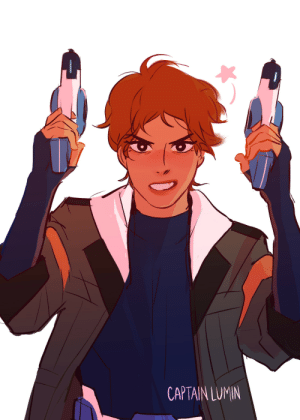 Target, Tumblr, and Blog: CAPTAIN LUMIN captainlumin:  since ambidextrous lance is canon have some double sharpshooter coolness :)pew pew