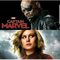 Anime, Batman, and Memes: CAPTAIN  MARVE SamuelLJackson set to co-star in CaptainMarvel with BrieLarson 🛫 nerd geek marvel ironman captainamerica spiderman guardiansofthegalaxy deadpool xmen starwars anime batman superman justiceleague comics captainmarvel dc blackpanther WonderWoman