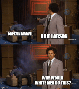 Why would white men do this?!: CAPTAIN MARVEL  BRIELARSON  [adultswim.com  WHY WOULD  WHITE MEN DO THIS2 Why would white men do this?!