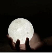 Caption Details: @moonism_ig brings the allure of the moon to your home, This beautiful 3D printed night light will add a unique view to any setting 🌕: Caption Details: @moonism_ig brings the allure of the moon to your home, This beautiful 3D printed night light will add a unique view to any setting 🌕