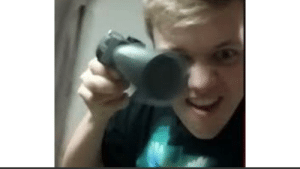 Caption this so our boy Pyro can see your creativity: Caption this so our boy Pyro can see your creativity