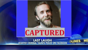 https://t.co/OnQSxHLaRc: CAPTURED  LAST LAUGH  WANTED CRIMINAL TAUNTS POLICE ON FACEBOOK  DLINES HE  DLINES HEADLINES HE https://t.co/OnQSxHLaRc