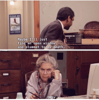 Memes, Mood, and Death: CAR CHECK  Maybe I'il just  ind an open WindOW  and plummet to my death,  okay Big mood Credit: @parks.and.knope tomhaverford azizansari parksandrec parksandrecreation