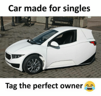 Memes, Singles, and 🤖: Car made for singles  Tag the perfect owner Follow our new page - @sadcasm.co