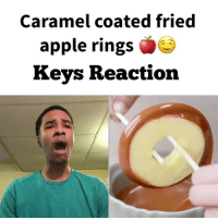 Throw back to this OMG 🤤😂🤷🏽♂️ Tag somebody you wanna make this with ! Tag 3 friends for a follow ! - 🔴 If you are viewing this Follow me @keycomedy @keycomedy @keycomedy @keycomedy 🔴 - lifehack lifehacks hacks food party lol comedy swag cute girl boy beautiful funnyvideo lmao viral love instagood happy hilarious Me follow Smile wtf photooftheday tbt followme picoftheday instadaily amazing: Caramel coated fried  apple rings  Keys Reaction Throw back to this OMG 🤤😂🤷🏽♂️ Tag somebody you wanna make this with ! Tag 3 friends for a follow ! - 🔴 If you are viewing this Follow me @keycomedy @keycomedy @keycomedy @keycomedy 🔴 - lifehack lifehacks hacks food party lol comedy swag cute girl boy beautiful funnyvideo lmao viral love instagood happy hilarious Me follow Smile wtf photooftheday tbt followme picoftheday instadaily amazing