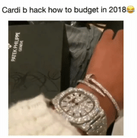 Funny, Budget, and How To: Cardi b hack how to budget in 2018 Cardi B out here showing the answer is @Fashionnova