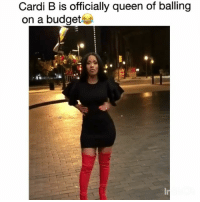 @fashionnova has Cardi B slaying the new year the right way 🙌: Cardi B is officially queen of balling  on a budget @fashionnova has Cardi B slaying the new year the right way 🙌