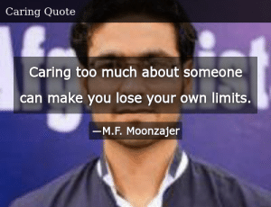 SIZZLE: Caring too much about someone can make you lose your own limits.