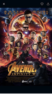 Imax, Twitter, and Infinity: CARLET  ETTANY  ELIZABETH ATHDY SEBASTIAN  SENMACKE  ETITIA  HRIRA WRIGHT  STUDIOS  ENGL  INFINITY W  SPr  PR27  ND IMAX  @eugechicl <p>To those missing poor Hawkeye. Credit to @eugechicle on twitter.</p>