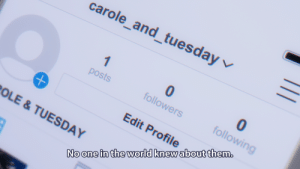 Anime, World, and Irl: carole-and-tuesday/  0  followers  posts  0  followin  Edit Profile  No one in the world knew about them.  App  OLE& TUESDAY anime_irl