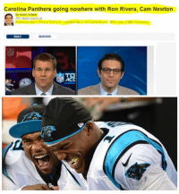 Cam Newton: Carolina Panthers going nowhere with Ron Rivera, Cam Newton  By Adam Schein  NFL Media Columnist  READ  DISCUSS  ACC