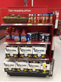 Target knows what the fuck is up https://t.co/bSyIiuef4l: Cart stopping prices  2.02  TON MORTO  SALT  SALT  MORTO  SALT  .19  5.19  12  12  12  orono  rono  orono  Extra  Extra  Extra  orono  ron0  Extra  Extra  xtra  Corono Target knows what the fuck is up https://t.co/bSyIiuef4l