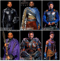 Memes, Marvel, and Movie: CAS T  by  G DC.MARVEL.UNITE Can you name all these Marvel Characters ? 🤔 Here's a New Look at the Full Cast of BlackPanther from EntertainmentWeekly ! I'm really curious to see how they're going to fit in StanLee's Cameo in this MCU Movie ! 😂 SDCC 🙌🏽 MarvelCinematicUniverse 💥 SDCC2017