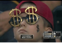 Cash Money: CASH MONEY  Blake's brother  WASHINGTON 6  TENNESSEE 5