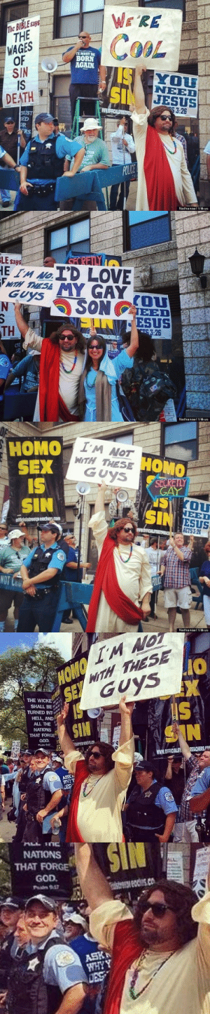 castielcampbell:fragile-fallen-angel:ya-boi-strider:Somebody needs to give that guy an awardHe just made that cop's shitty day 10x better. He has to deal with grumpy, hateful protesters and then Jesus fucking shows up. jesus took the wheel and hauled ass to a gay pride parade [Nathanael Vitkus] : castielcampbell:fragile-fallen-angel:ya-boi-strider:Somebody needs to give that guy an awardHe just made that cop's shitty day 10x better. He has to deal with grumpy, hateful protesters and then Jesus fucking shows up. jesus took the wheel and hauled ass to a gay pride parade [Nathanael Vitkus]