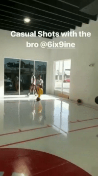 Memes, 🤖, and How: Casual Shots with the  bro @6ix9ine How is 6ix9ine making shots with that release!  (Via @VicOladipo) https://t.co/SL0nlokf5h