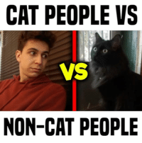 do you like cats? w- @artistjodysteel • follow me @gabeerwin for more • 👇🏻 TAG A FRIEND WHO RELATES 👇🏻: CAT PEOPLE VS  VS  NON-CAT PEOPLE  0 do you like cats? w- @artistjodysteel • follow me @gabeerwin for more • 👇🏻 TAG A FRIEND WHO RELATES 👇🏻