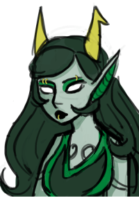 Target, Tumblr, and Blog: catariathegaylord:  a little Porrim sketch for my friend
